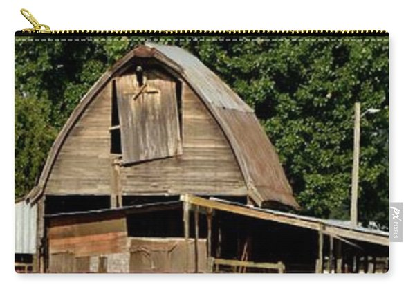 Old Wooden Barn Carry-all Pouch