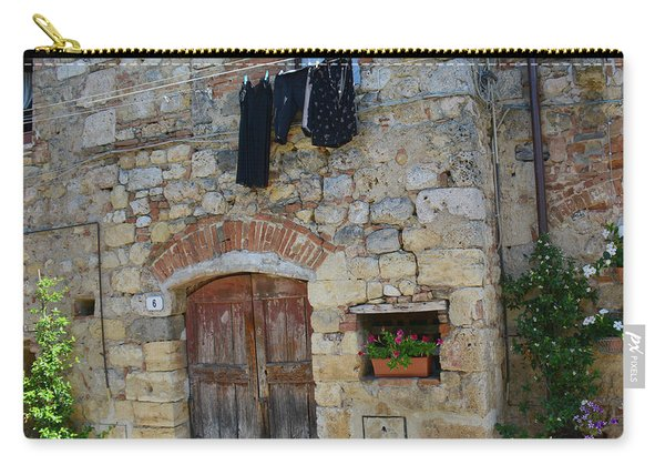 Old World Door Carry-all Pouch