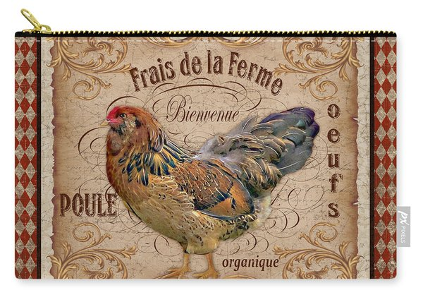 Old World Poule-jp3088 Carry-all Pouch