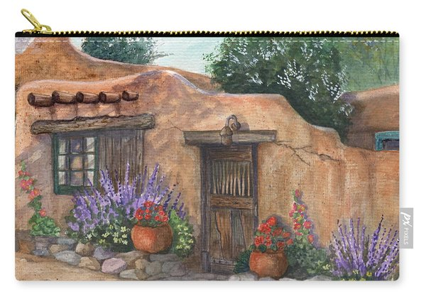 Old Adobe Cottage Carry-all Pouch