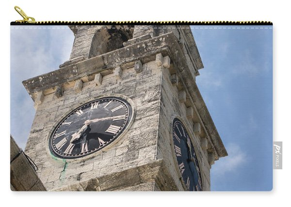 Olde Time Clock Carry-all Pouch