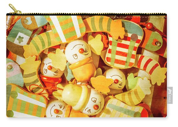 Olden Day Clown Show Carry-all Pouch