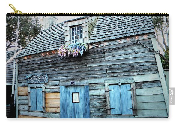 Oldest Wood School House Usa Carry-all Pouch