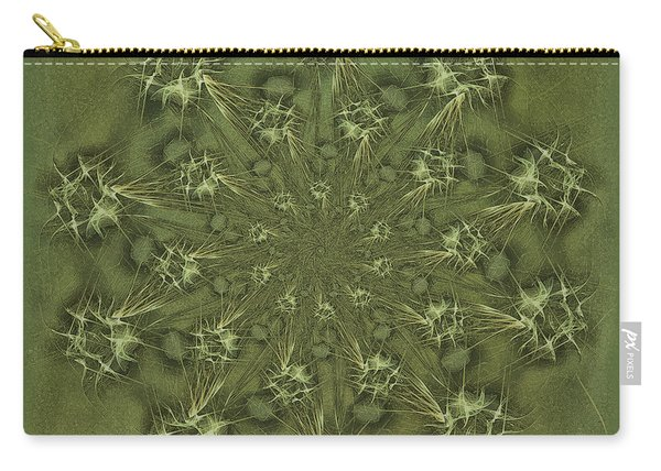 Olive Branch Mandala Carry-all Pouch