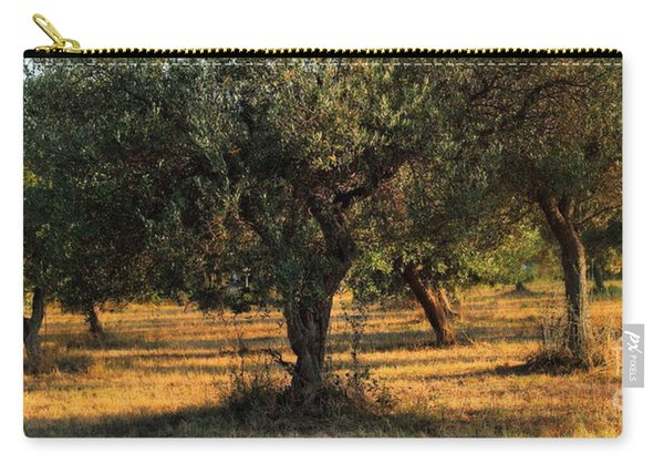 Olive Grove 3 Carry-all Pouch
