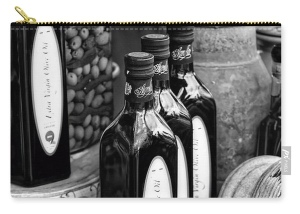 Olives And Oil Carry-all Pouch