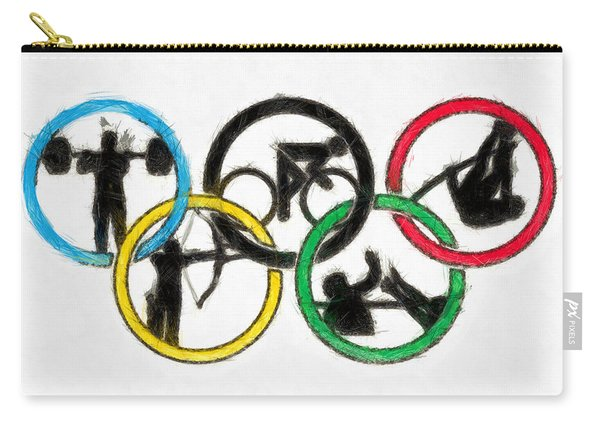 Olympic Games Symbol - Pa Carry-all Pouch