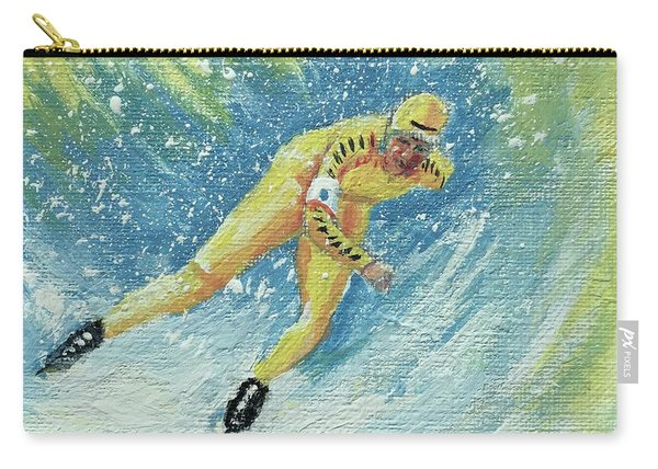 Olympic Speed Skater Carry-all Pouch