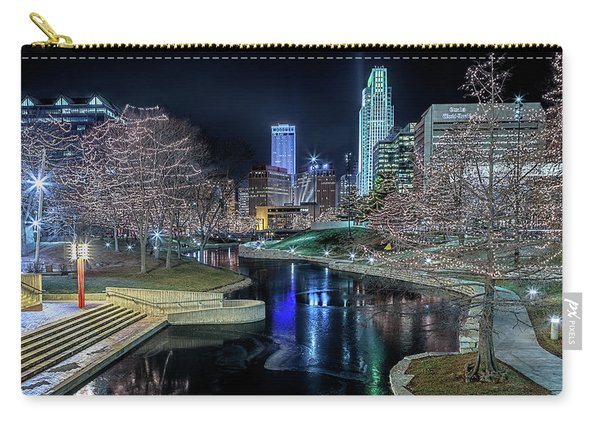 Omaha Holiday Lights Festival Carry-all Pouch