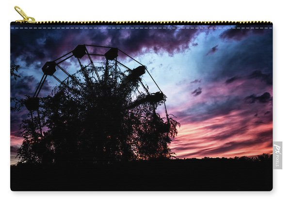 Ominous Abandoned Ferris Wheel Carry-all Pouch