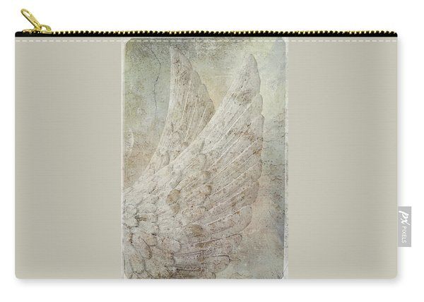 On Angels Wings Carry-all Pouch