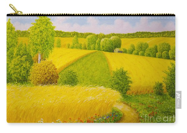 On August Grain Fields Carry-all Pouch