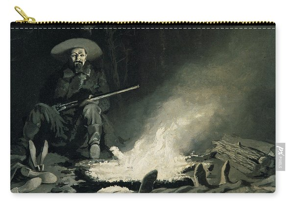 On Guard At Night Carry-all Pouch