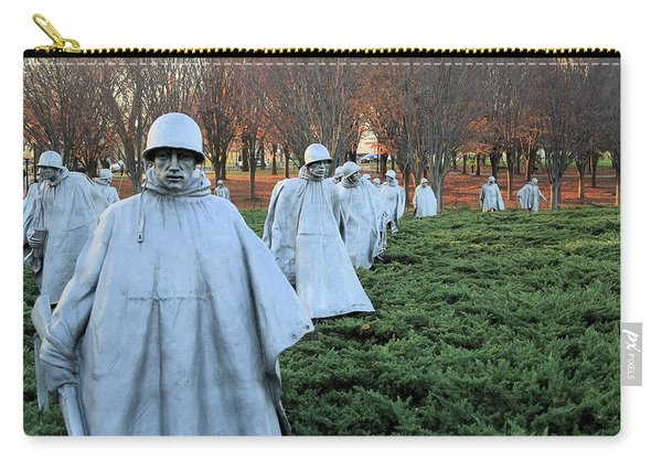 On Patrol The Korean War Memorial Carry-all Pouch