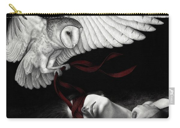 On Silent Wings Carry-all Pouch