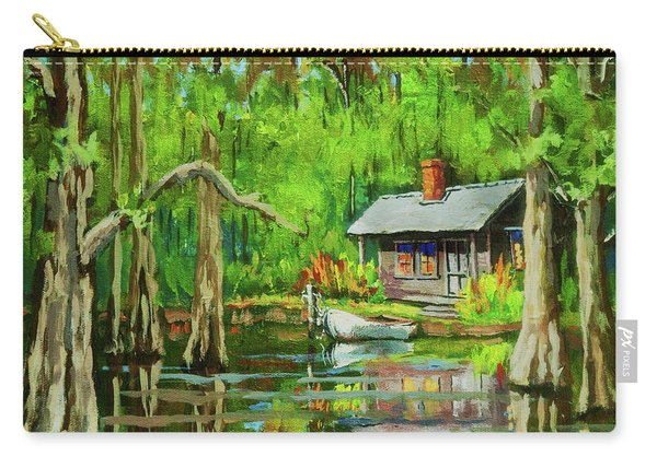 On The Bayou Carry-all Pouch
