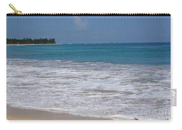 Carry-all Pouch featuring the photograph On The Beach by Jimmy Clark