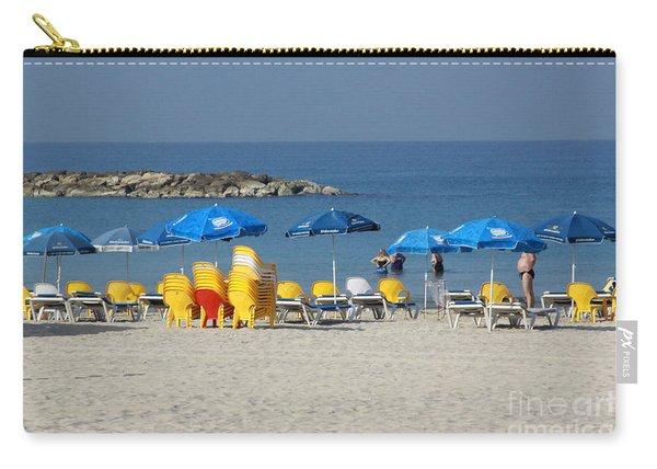 On The Beach-tel Aviv Carry-all Pouch