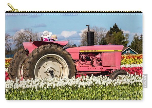 On The Field Of Beauty Carry-all Pouch