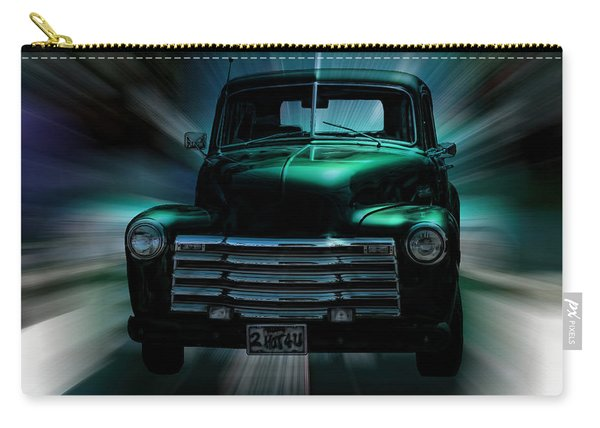 On The Move Truck Art Carry-all Pouch