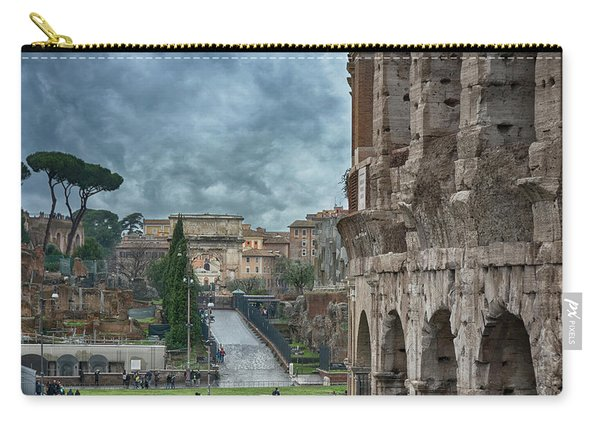 On The Trail Of The Old Romans Carry-all Pouch