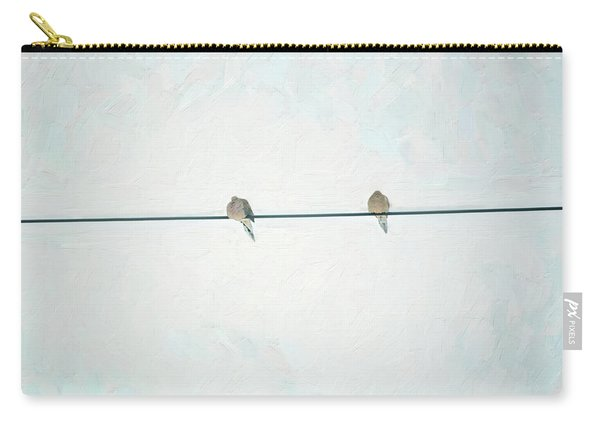 On The Wire Carry-all Pouch