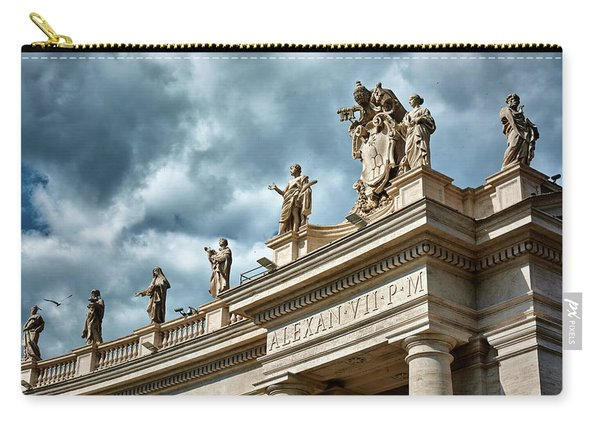 On Top Of The Tuscan Colonnades Carry-all Pouch