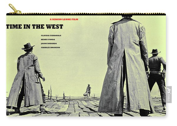 Once Upon A Time In The West, A Sergio Leone Film Carry-all Pouch