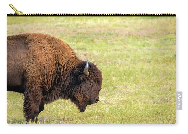 One Bison Carry-all Pouch