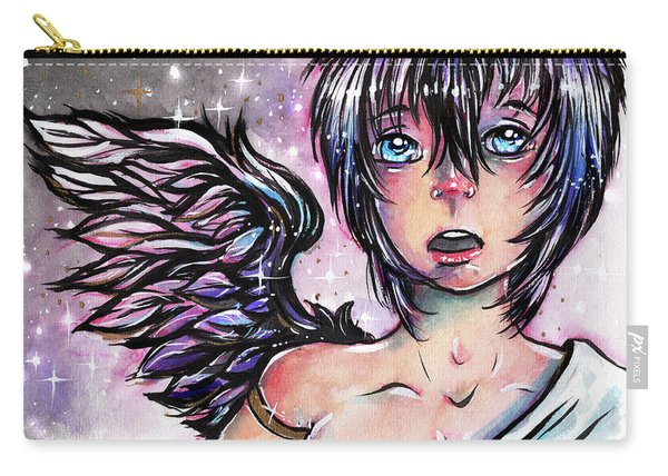 One Dark Wing  Carry-all Pouch