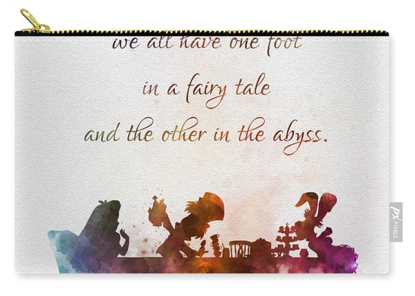 One Foot In A Fairy Tale Carry-all Pouch