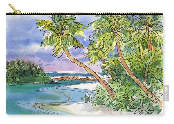 One-foot-island, Aitutaki Carry-all Pouch