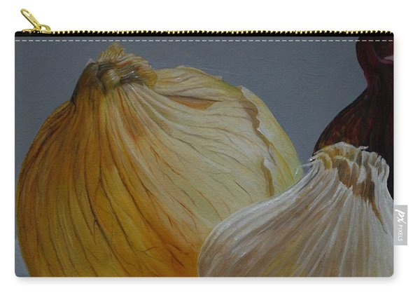 Onions And Garlic Carry-all Pouch