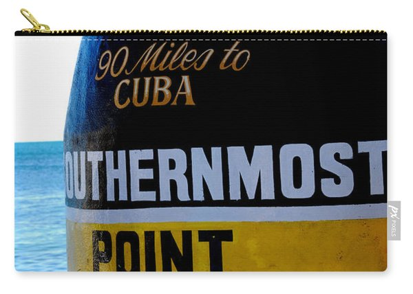 Only 90 Miles To Cuba Carry-all Pouch