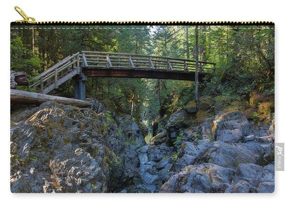 Opal Creek Bridge Carry-all Pouch