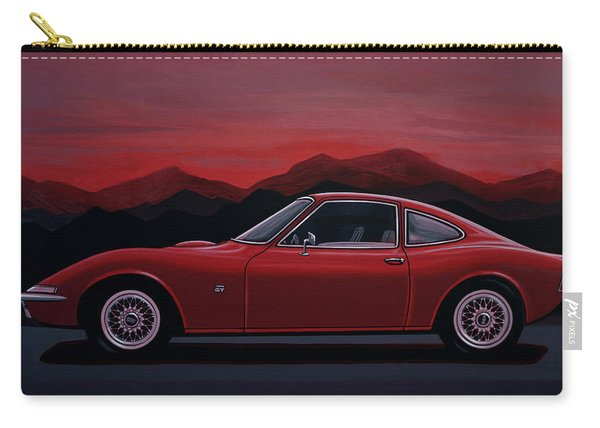 Opel Gt 1969 Painting Carry-all Pouch