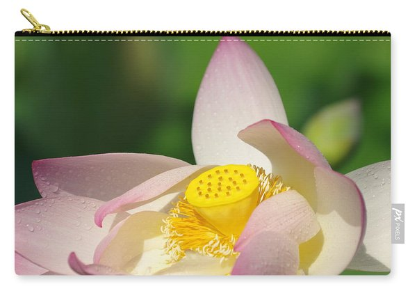 Open Lotus Carry-all Pouch
