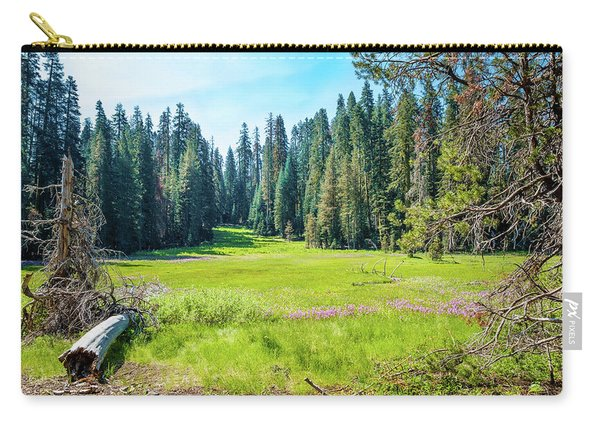Open Meadow- Carry-all Pouch