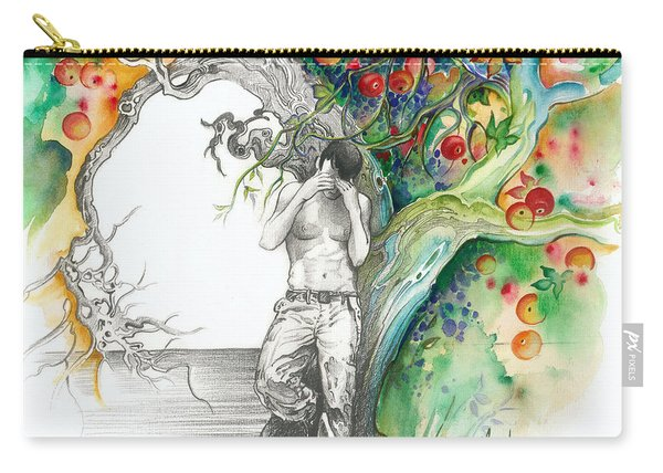 Open Your Eyes -the World Is Changing Carry-all Pouch