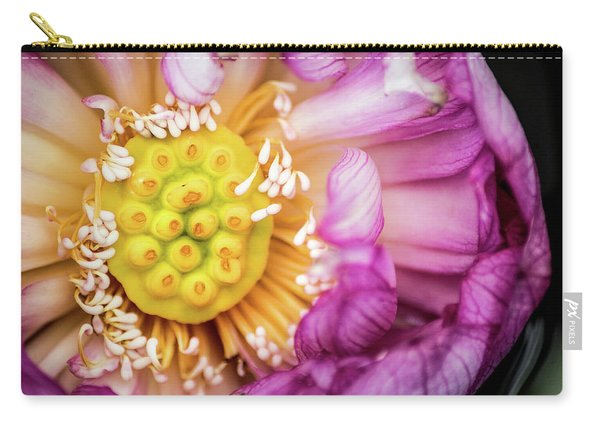 Opening Lotus Pod Carry-all Pouch