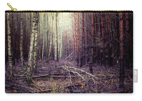 Carry-all Pouch featuring the photograph Opposition by Dmytro Korol