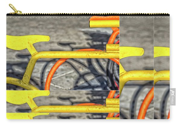 Orange And Yellow Collage Carry-all Pouch