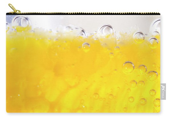 Orange Cocktail Glass Carry-all Pouch