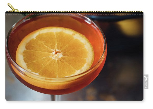 Orange Cocktail Carry-all Pouch