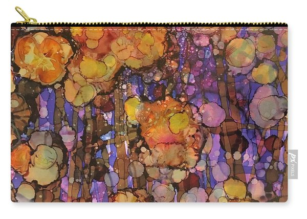 Passion Poppies Carry-all Pouch