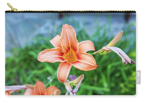 Orange Daylily Carry-all Pouch