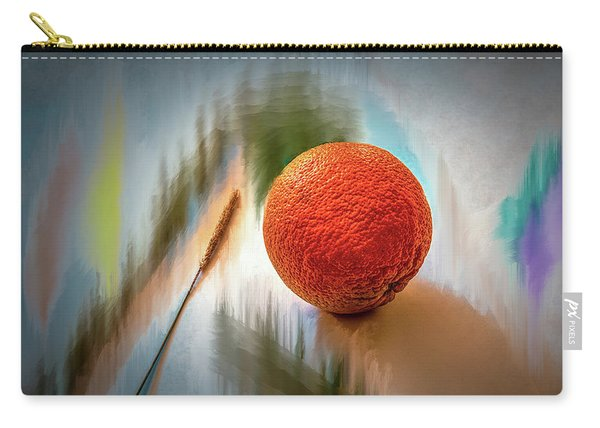 Orange #g4 Carry-all Pouch