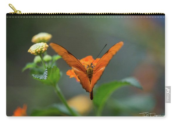 Orange Is The New Butterfly Carry-all Pouch