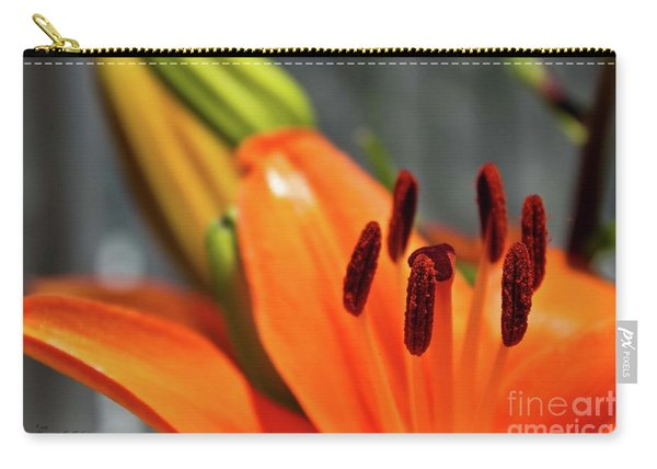 Orange Lily Close Up Carry-all Pouch