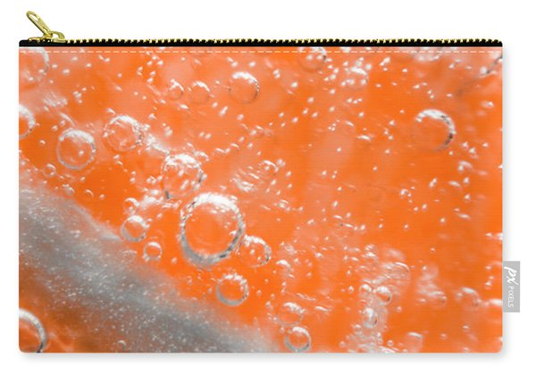 Orange Martini Cocktail Carry-all Pouch